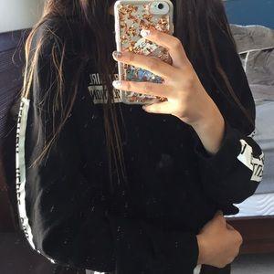 H&M Rebel Girl Revolution Crop Sweater